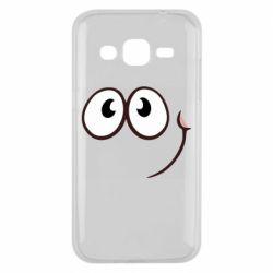 Чохол для Samsung J2 2015 Red ball smile