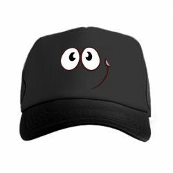 Кепка-тракер Red ball smile