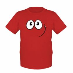 Дитяча футболка Red ball smile