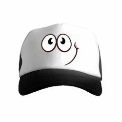 Дитяча кепка-тракер Red ball smile