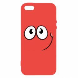 Чохол для iphone 5/5S/SE Red ball smile