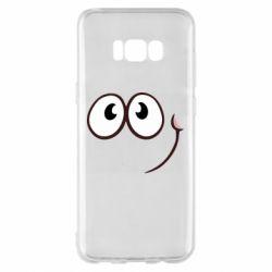 Чохол для Samsung S8+ Red ball smile