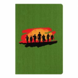 Блокнот А5 Red Dead Redemption 2 Cowboys Silhouette