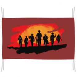 Прапор Red Dead Redemption 2 Cowboys Silhouette