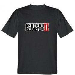 Чоловіча футболка Red Dead Redemption logo