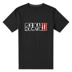 Чоловіча стрейчева футболка Red Dead Redemption logo