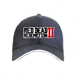 Кепка Red Dead Redemption logo