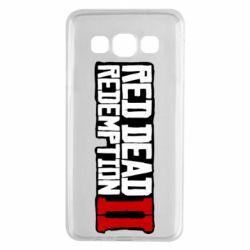 Чохол для Samsung A3 2015 Red Dead Redemption logo
