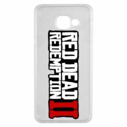 Чохол для Samsung A3 2016 Red Dead Redemption logo
