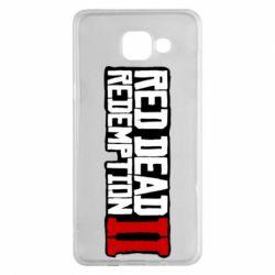 Чохол для Samsung A5 2016 Red Dead Redemption logo