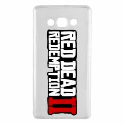 Чохол для Samsung A7 2015 Red Dead Redemption logo