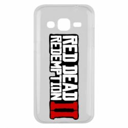 Чохол для Samsung J2 2015 Red Dead Redemption logo