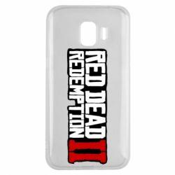 Чохол для Samsung J2 2018 Red Dead Redemption logo