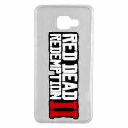Чохол для Samsung A7 2016 Red Dead Redemption logo