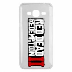 Чохол для Samsung J3 2016 Red Dead Redemption logo