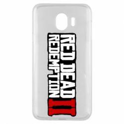 Чохол для Samsung J4 Red Dead Redemption logo