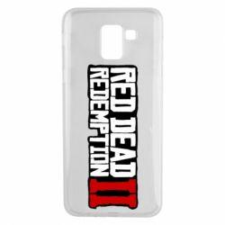 Чохол для Samsung J6 Red Dead Redemption logo
