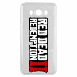 Чохол для Samsung J7 2016 Red Dead Redemption logo