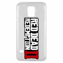 Чохол для Samsung S5 Red Dead Redemption logo