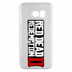 Чохол для Samsung S6 EDGE Red Dead Redemption logo