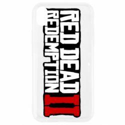 Чохол для iPhone XR Red Dead Redemption logo