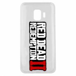 Чохол для Samsung J2 Core Red Dead Redemption logo