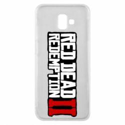 Чохол для Samsung J6 Plus 2018 Red Dead Redemption logo