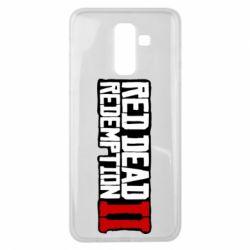 Чохол для Samsung J8 2018 Red Dead Redemption logo