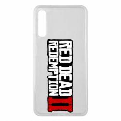Чохол для Samsung A7 2018 Red Dead Redemption logo