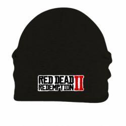 Шапка на флісі Red Dead Redemption logo