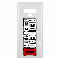 Чохол для Samsung Note 9 Red Dead Redemption logo