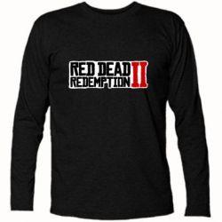 Футболка з довгим рукавом Red Dead Redemption logo
