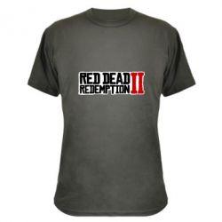 Камуфляжна футболка Red Dead Redemption logo