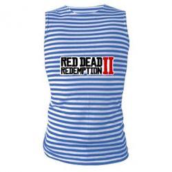 Майка-тільняшка Red Dead Redemption logo