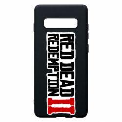Чохол для Samsung S10+ Red Dead Redemption logo