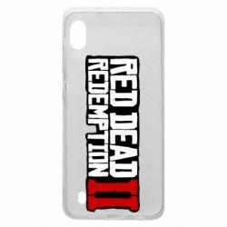Чохол для Samsung A10 Red Dead Redemption logo
