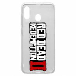 Чохол для Samsung A30 Red Dead Redemption logo