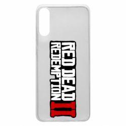 Чохол для Samsung A70 Red Dead Redemption logo