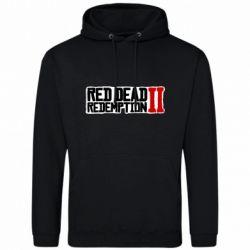 Чоловіча толстовка Red Dead Redemption logo
