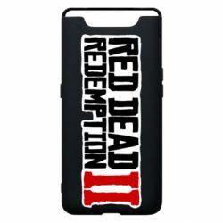 Чохол для Samsung A80 Red Dead Redemption logo