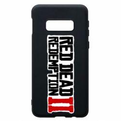 Чохол для Samsung S10e Red Dead Redemption logo