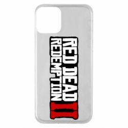 Чохол для iPhone 11 Red Dead Redemption logo