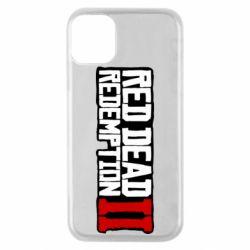 Чохол для iPhone 11 Pro Red Dead Redemption logo