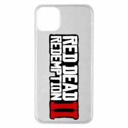 Чохол для iPhone 11 Pro Max Red Dead Redemption logo