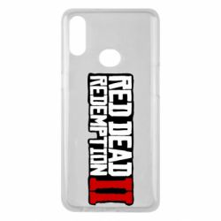 Чохол для Samsung A10s Red Dead Redemption logo