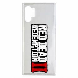 Чохол для Samsung Note 10 Plus Red Dead Redemption logo