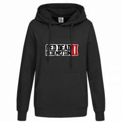 Толстовка жіноча Red Dead Redemption logo