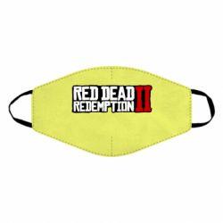Маска для обличчя Red Dead Redemption logo