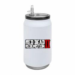 Термобанка 350ml Red Dead Redemption logo
