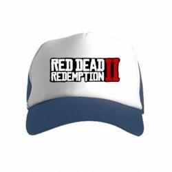 Дитяча кепка-тракер Red Dead Redemption logo